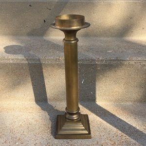 Heavy Solid Brass Candle Stick